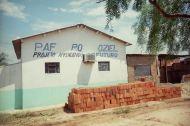 Das Jugendzentrum mit Klimanlage für den Computerraum (alles uralte Mühlen).