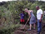 Wir waren in Brasilien natürlich immer fleißig und hilfsbereit.