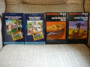 Die beiden TKKG-Bücher habe ich als recht rassistisch in Erinnerung.