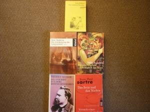 Bücher, die ich oft während des Unterrichts gelesen habe.